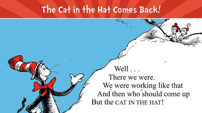 the cat in the hat comes back をapp storeで