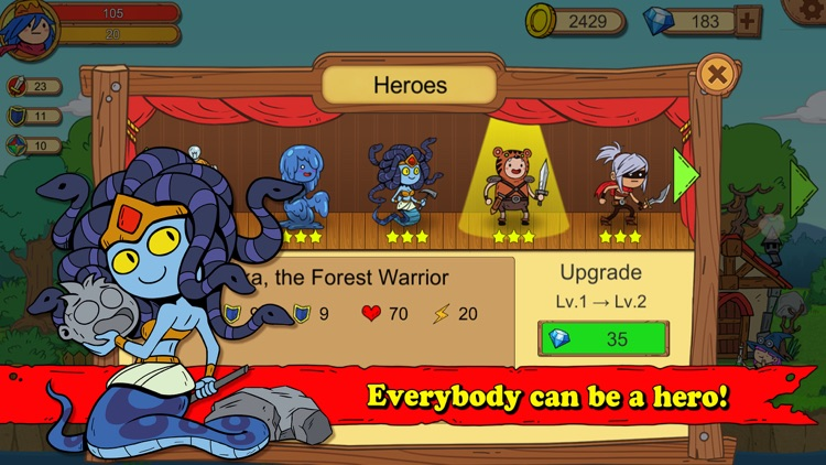 Unlikely Heroes screenshot-1