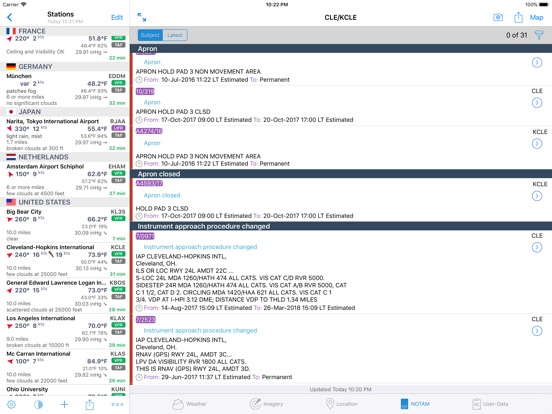 AeroWeather Pro Screenshots