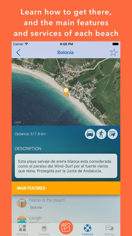 iPlaya+ Beach weather forecast screenshot-3