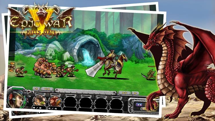Epic Fight - New Clash of Strategy War screenshot-3
