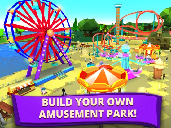 My Theme Park: Fun Park Tycoon | App Price Drops