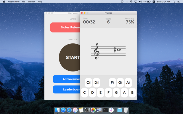 ‎Music Tutor (Sight-reading) Screenshot