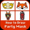 How to Draw Pary Mask