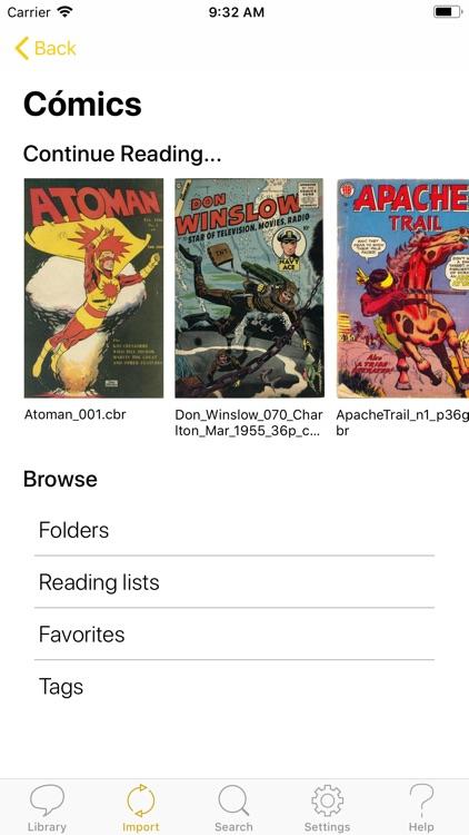 YACReader - Comic Reader screenshot-6