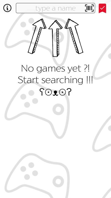 My Games screenshot one