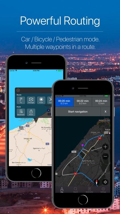 Morocco Offline Navigation