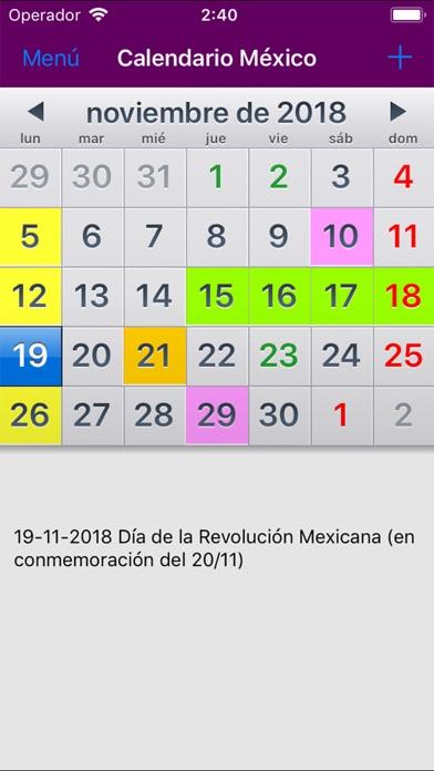 Tải về Calendario México 2019 cho Android