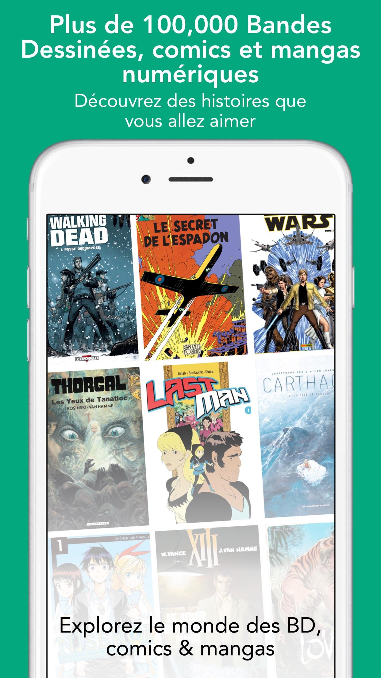 comiXology – Comics & Mangas Screenshot