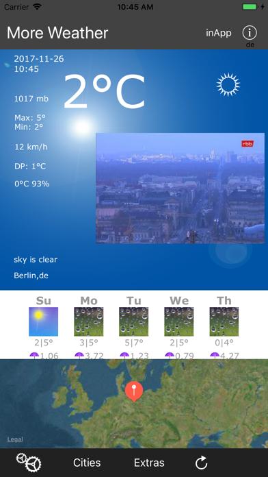 More Weather screenshot 1