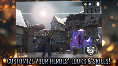 Screenshot from Heroes and Castles 2