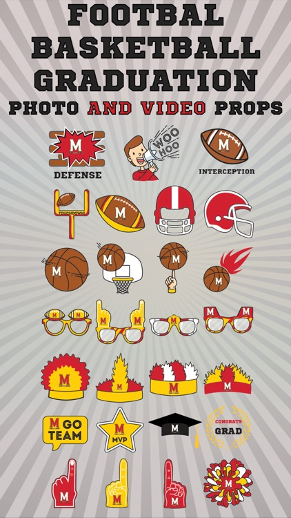 Maryland Terrapins Animated Selfie Stickers
