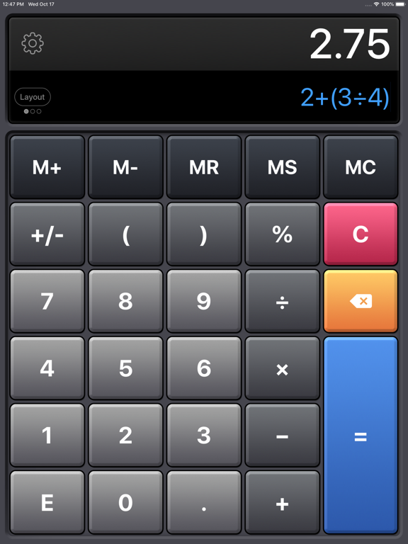 Calculator HD Pro - The Best Scientific Calculator for the iPad, iPhone, and iPod screenshot