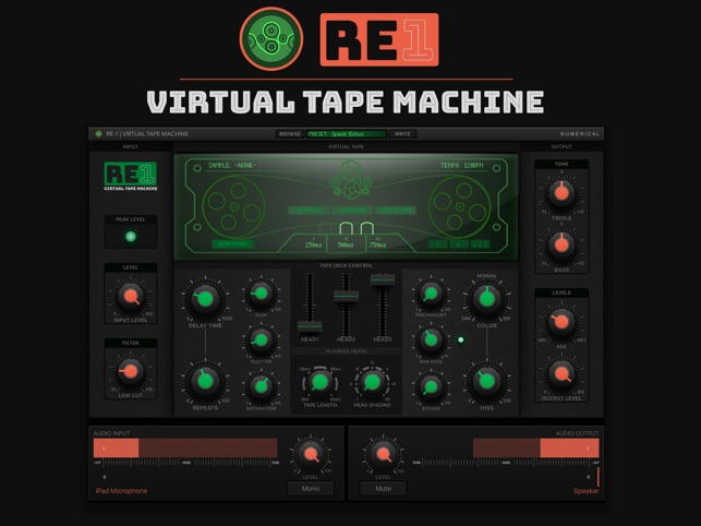 ‎RE-1 Tape Machine