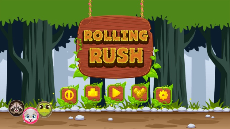 Rolling Rush - Endless Adventure