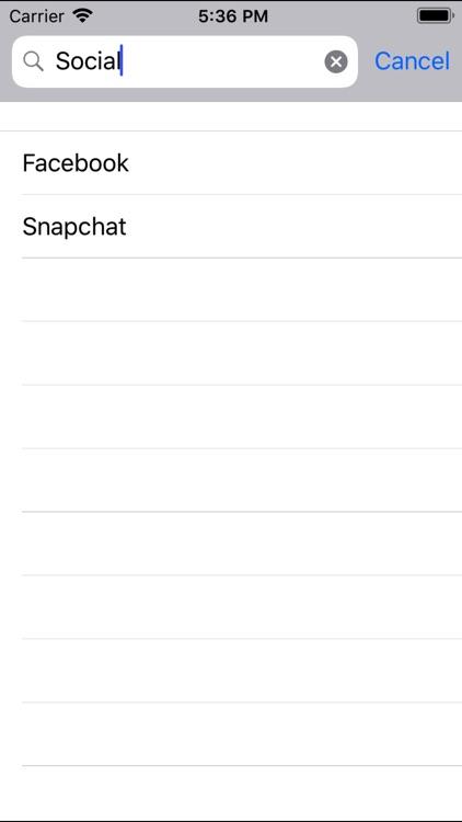 Keys - Password Manager Lite screenshot-4