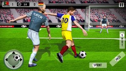 Football Soccer League Match