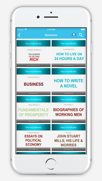 Business Audiobooks screenshot one