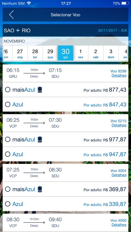 Azul Airlines screenshot-3