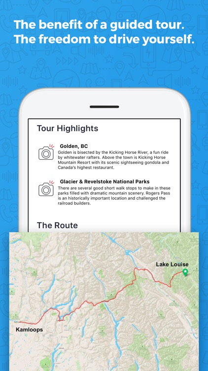 Lake Louise to Kamloops GyPSy Guide screenshot-4