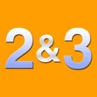 2 和 3 icon