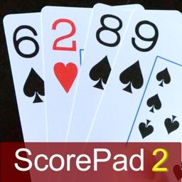 Rummy Scorepad 2