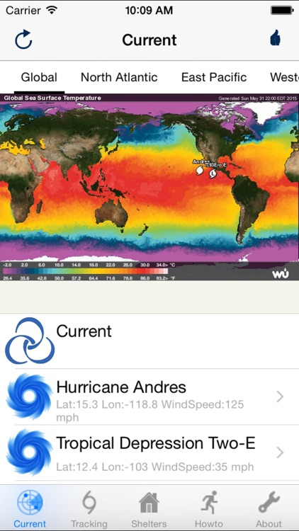 Hurricane Track & Outlook
