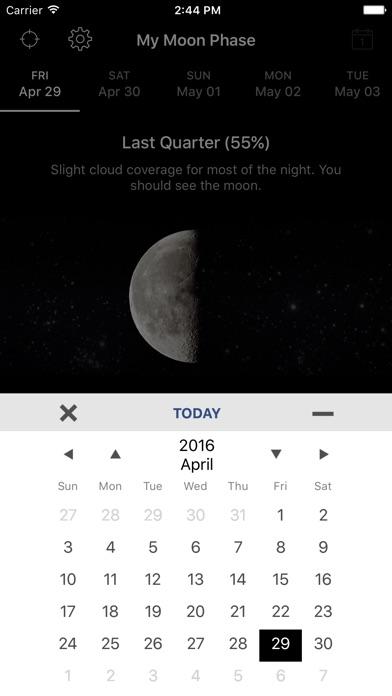 My Moon Phase - Lunar Calendar for Windows