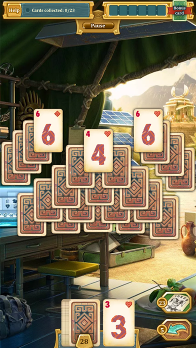 Solitaire Treasure of Time screenshot 5