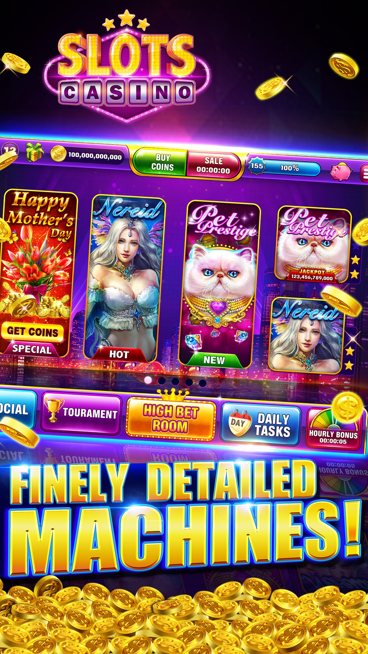 Slots Vegas™ - 777 Machines Screenshot