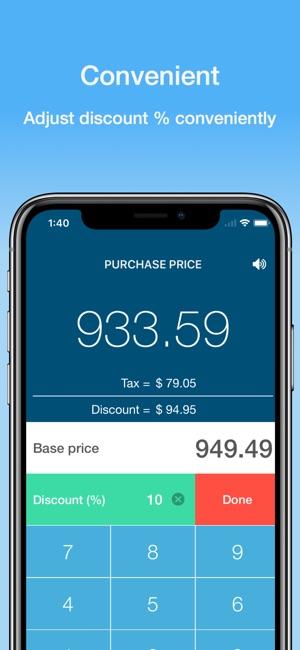 DiscountApp Screenshot