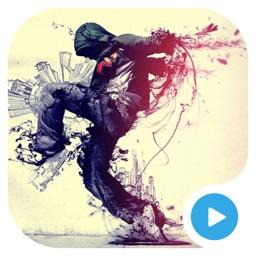 舞蹈教学视频-鬼步舞爵士舞