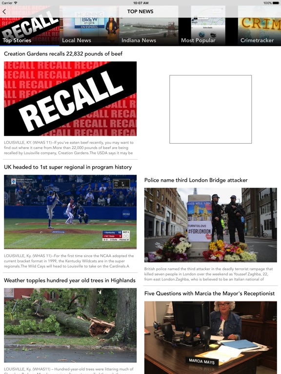 WHAS11 Louisville News - AppRecs