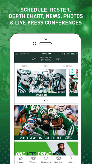 premium selection f6f88 069ea Official New York Jets on the App Store