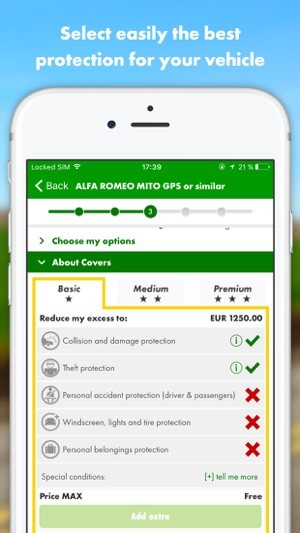 Europcar Car Hire Van Rental On The App Store
