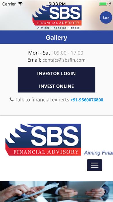 SBS FinFit screenshot four