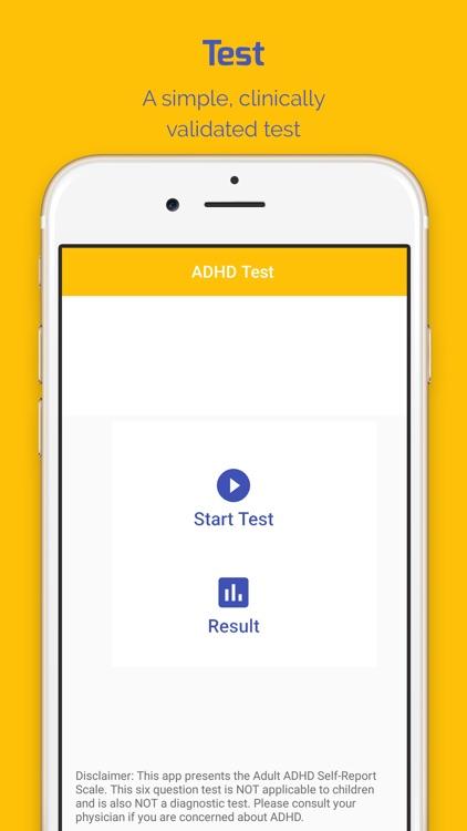 ADHD Test (Adult)