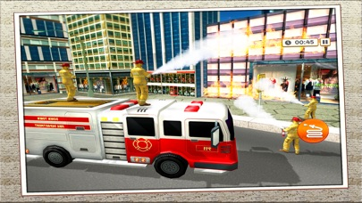 Firefighter 911 Rescue Truck Screenshot