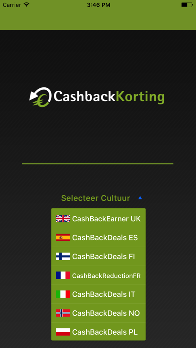CashbackEarners.co.uk screenshot one