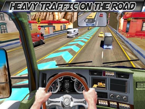 In Truck Driving Highway Games screenshot 8