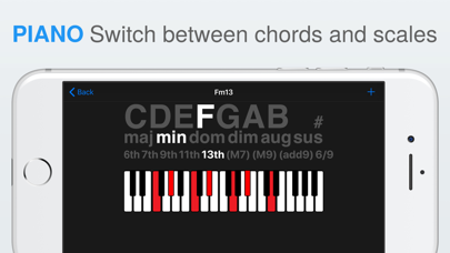 Chordology screenshot two