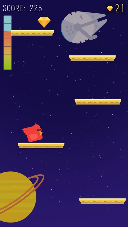 Birds to Space Game screenshot-4