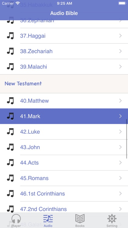 NASB Bible (Audio & Book) screenshot-1