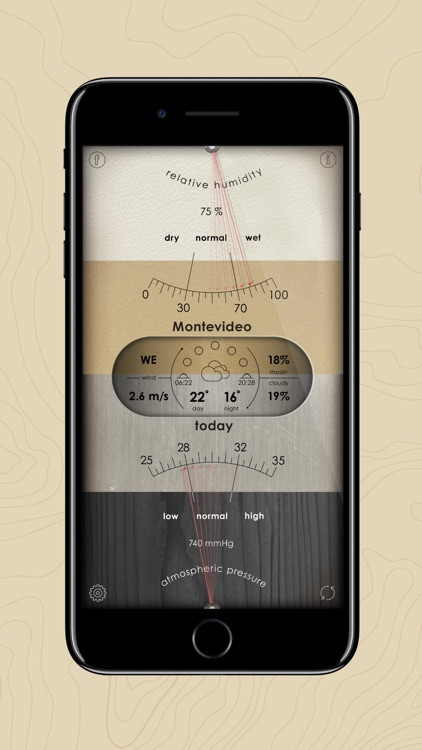 Analog Weather Station screenshot-3