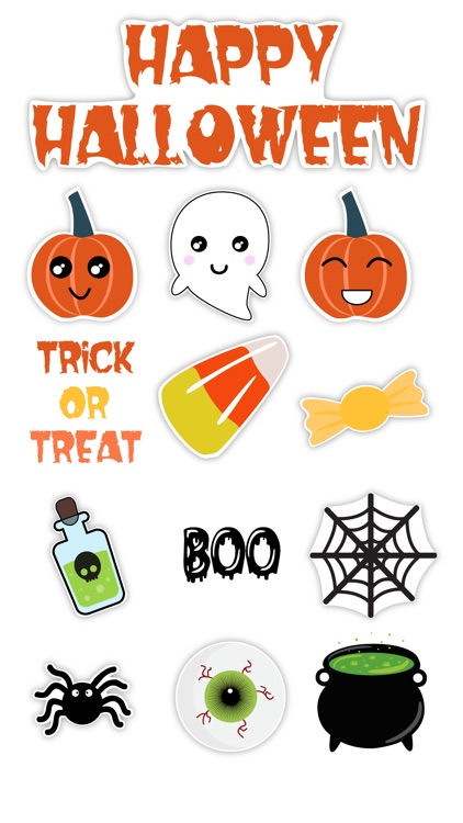 Enjoy Halloween Stickers screenshot-0