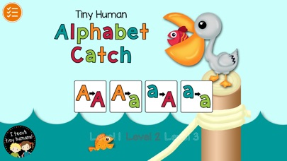 Tiny Human Alphabet Catch Screenshot 1