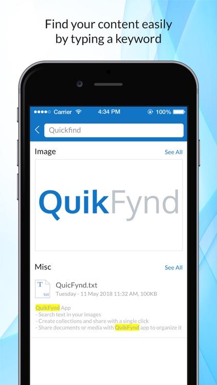 QuikFynd screenshot-3