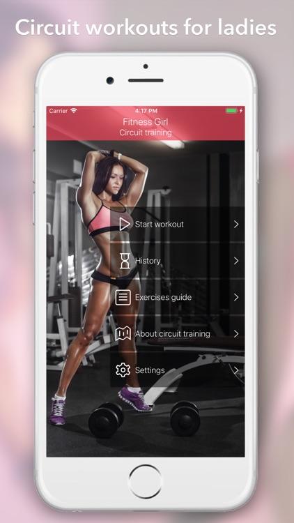 Fitness Girl: circuit training screenshot-0