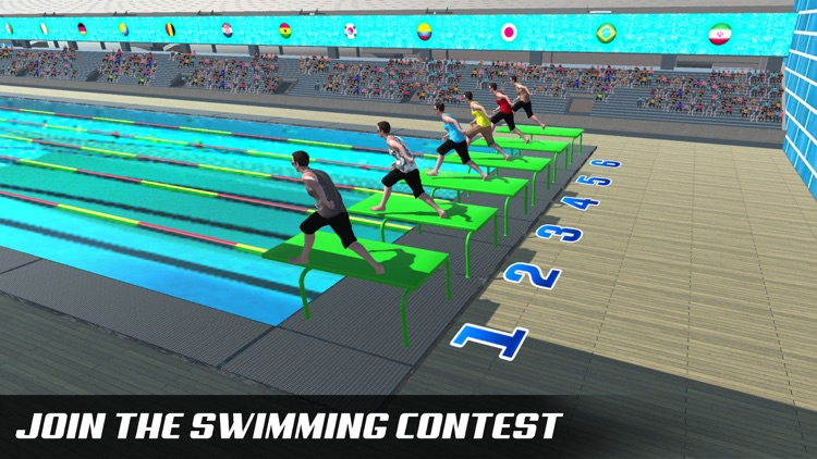 Water Swimming Diving Race Pro