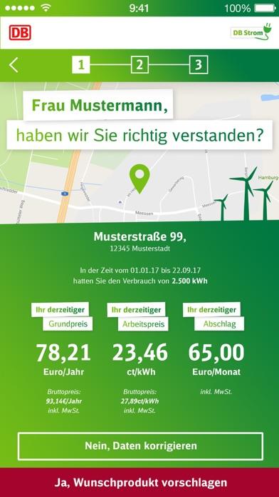 DB Strom Wechsel-App for Windows